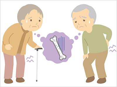 骨粗しょう症による椎体圧迫骨折